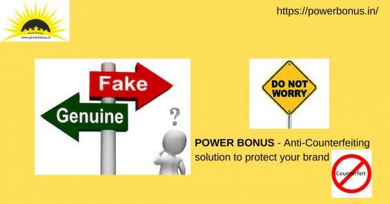 Anti counterfeiting services