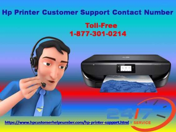 The mentioned technical hp printer customer support contact number 1-877-301-0214.