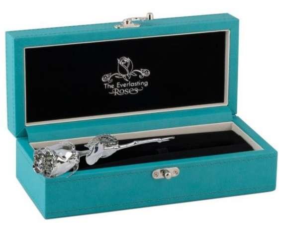 Buy platinum dipped roses online