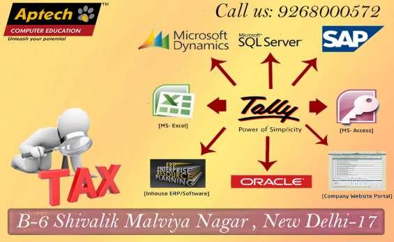 Tally course in delhi  aptech malviya nagar.