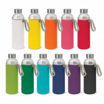 Shop for promotional grey polyester handle water bottle