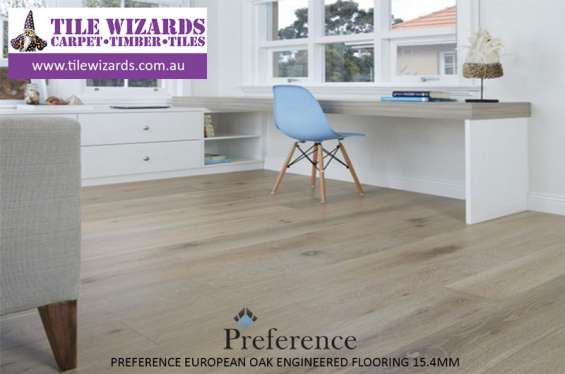 Preference engineered timber flooring - 15mm