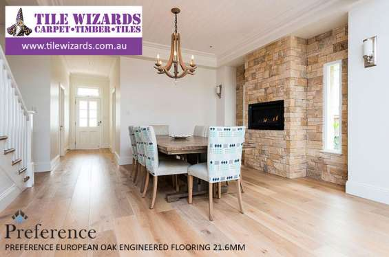 Preference engineered timber flooring - 21mm