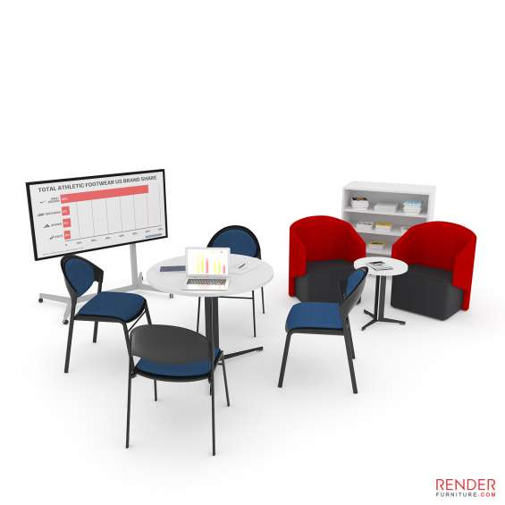 Product rendering furniture