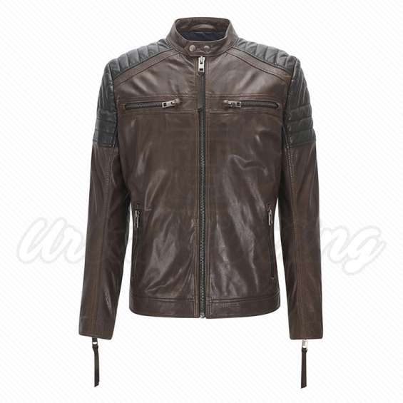 Leather&textile jackets