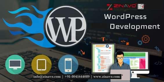 Wordpress website design and development services