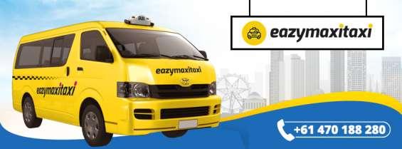 Melbourne maxi taxi booking   best maxi cab services