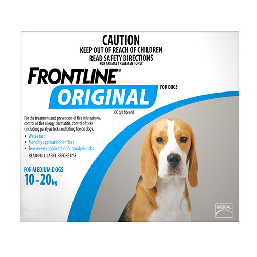 Buy frontline original for dogs - flea and tick prevention