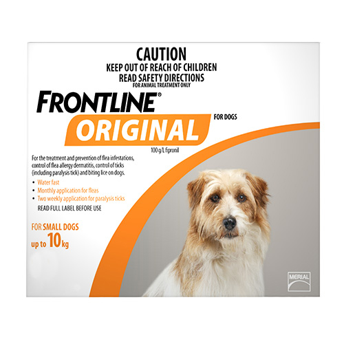 Buy frontline original for small dogs - flea and tick prevention