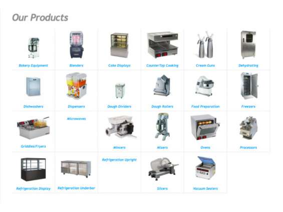 Pictures of International catering equipment - commercial kitchen equipment 2