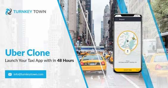 Uber clone app - turnkeytown