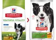 Hill's Science Diet Adult 7+ Youthful Vitality with Chicken & Rice Dry Dog Food Online