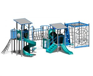 Top-notch quality timber play equipment