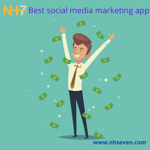 Best social media marketing app nh7.