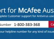 Mcafee customer support number +1-800-383-368 australia -for technical support