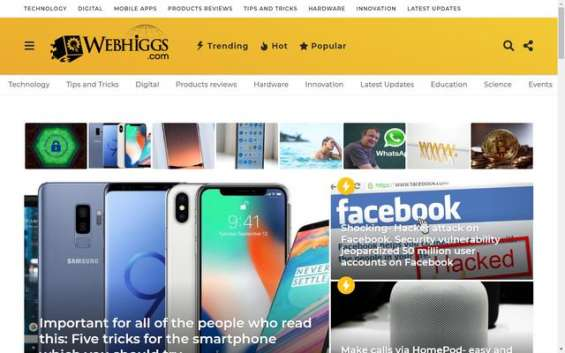 Webhiggs magazine - digital content scribblers   latest global trends & news