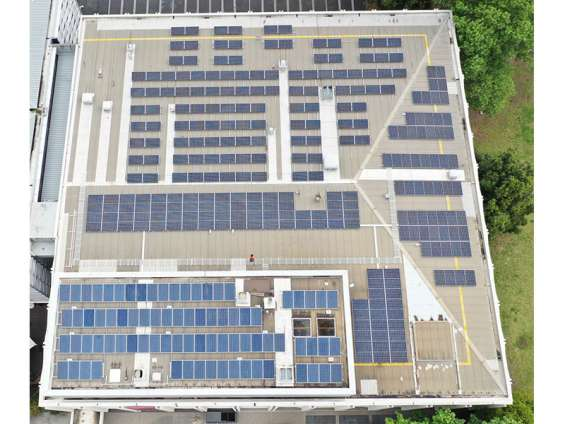 We are providing commercial solar panels installation service.