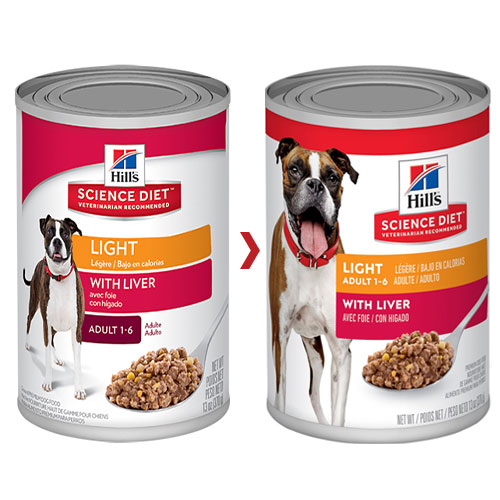 Buy hills science diet adult light liver canned dog food 370 gm online