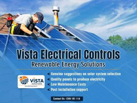 Vista electrical controls offers advantageous resident