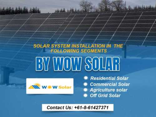 Save more with solar: attractive residential commercial solar deals by wow solar