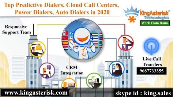 Multi language cloud based call center (predictive dialer)