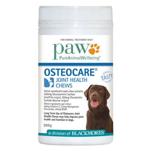 Paw osteocare joint health chews