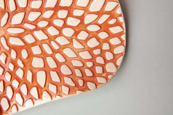 Ceramic plates online in melbourne   leaf & co