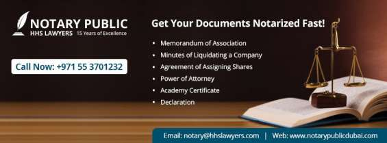 Get your documents notarized fast
