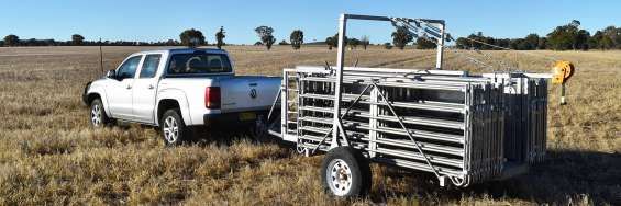 Proway portable sheep yards