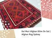 Gul Muri Afghan Kilim On Sale | Afghan Rug Sydney
