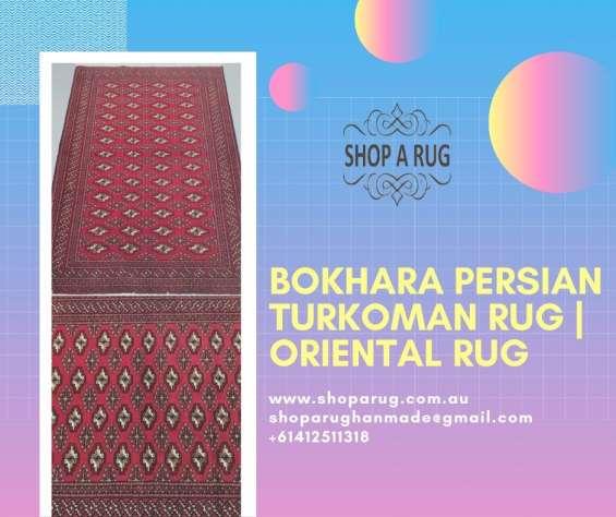 Bokhara persian turkoman rug   oriental rug