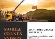 Mobile Cranes Sydney