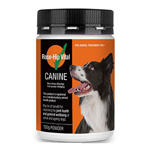Rose-hip vital canine joint supplement for dogs