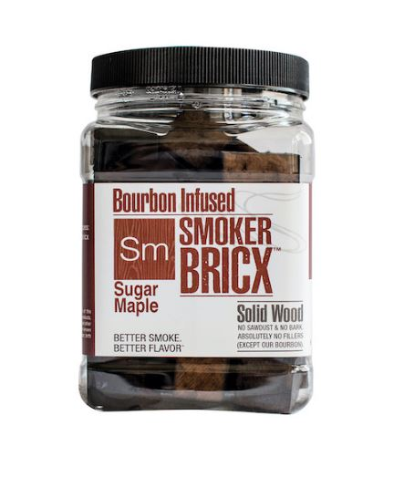Smoker bricx – sugar maple