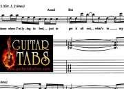 Guitar tabs, Chords, Lyrics, Song Books, sheet Music pdf Downloads