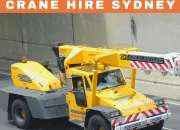 Franna crane hire sydney