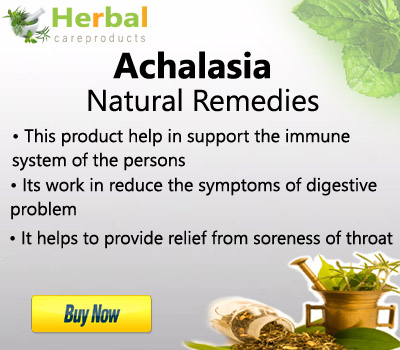 Herbal remedies for achalasia