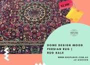 Dome Design Mood Persian Rug   Rug Sale