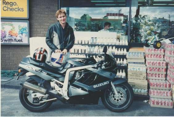Peter 1990 & suzuki gsx 750