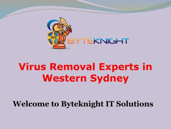 Virus removal experts in western sydney