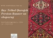 Buy Tribal Qarajeh Persian Runner on shoparug