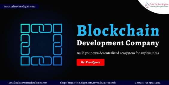 Blockchain development company - blockchain services