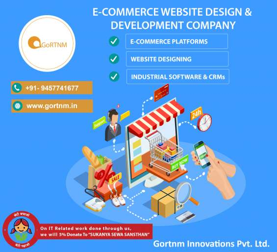 Ecommerce website development company in noida