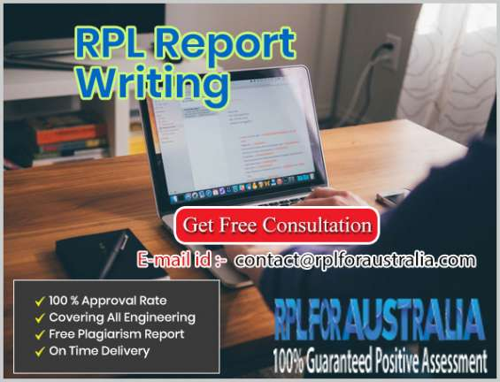 Need help with rpl report for acs australia! hire us