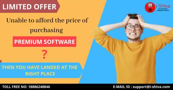 Buy premium software for your business at lowest price than market rate