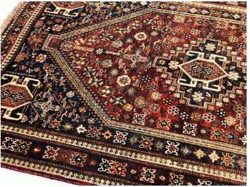 Get antique qashqai persian rug at shoparug