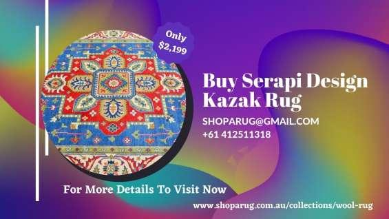 Buy serapi design kazak rug