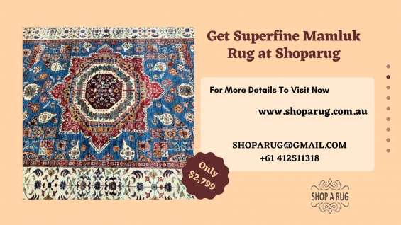 Get superfine mamluk rug at shoparug