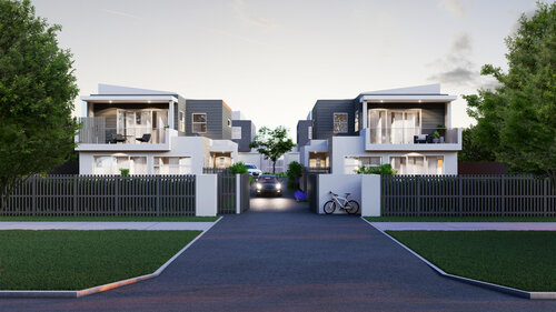 3d streetscape rendering