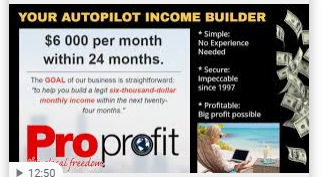 You receive affiliates on autopilot from our coop.